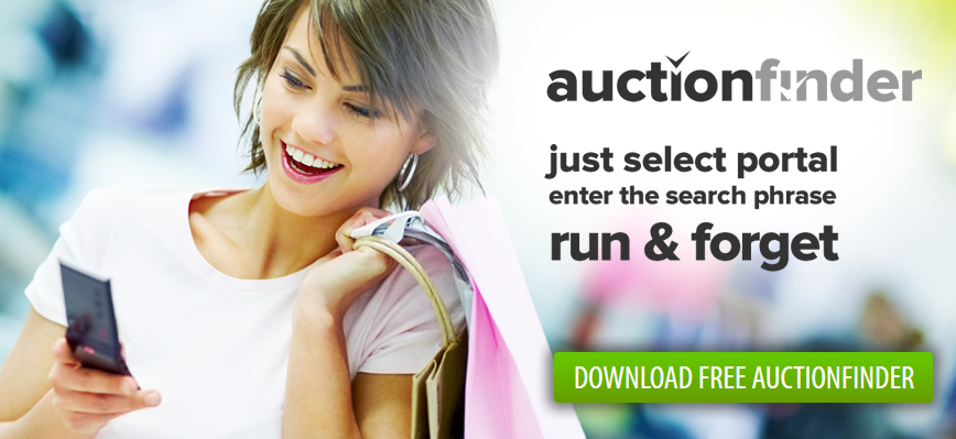 auctionfinder features